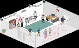 escape room illustration