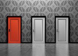 three doors escape room image