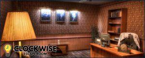 clockwise escape room banner
